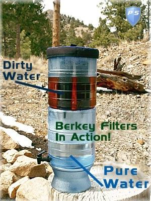 berkey light water purifier